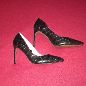 Who What Wear black heels